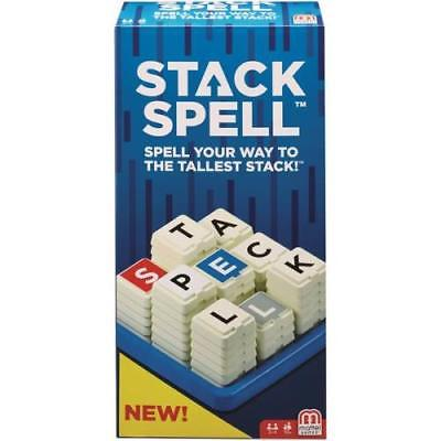 Mattel Stack Spell Game