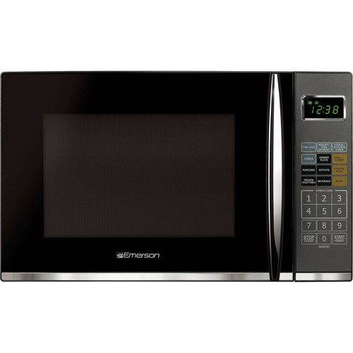 Emerson 1.2 cu ft Microwave with Grill, Black by Emerson Radio Corp.