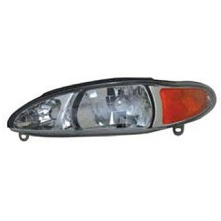 2002 02 Ford Escort Wagon - Go-Parts » 1997 - 2002 Ford Escort Front Headlight Headlamp Assembly Front Housing / Lens / Cover - Left (Driver) Side - (4 Door; Sedan + 4 Door; Wagon) XS4Z 13008 BA FO2502137 Replacement For)