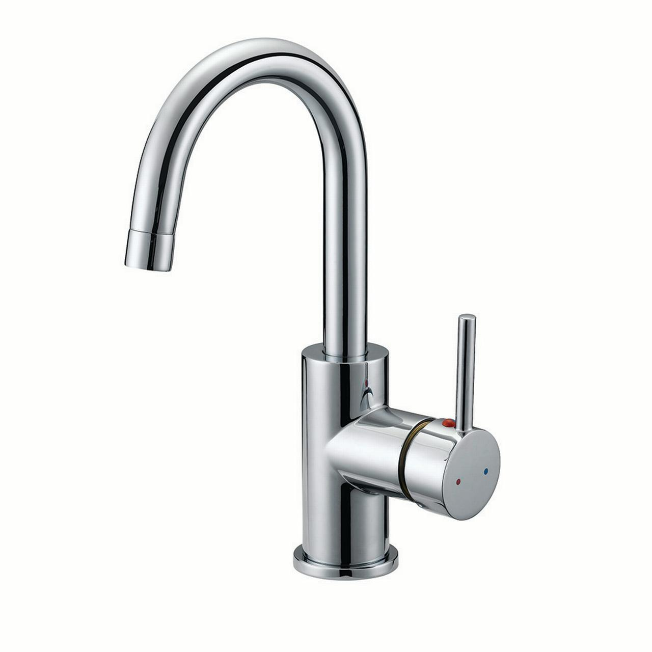 Design House 547562 Eastport Single Handle Standard Kitchen Faucet,  Polished Chrome
