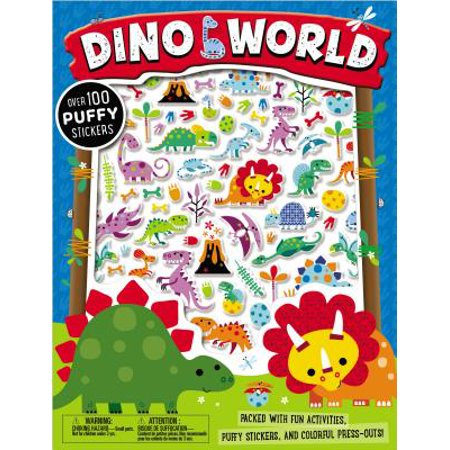 Puffy Stickers Dino World - Dinosaur Stickers