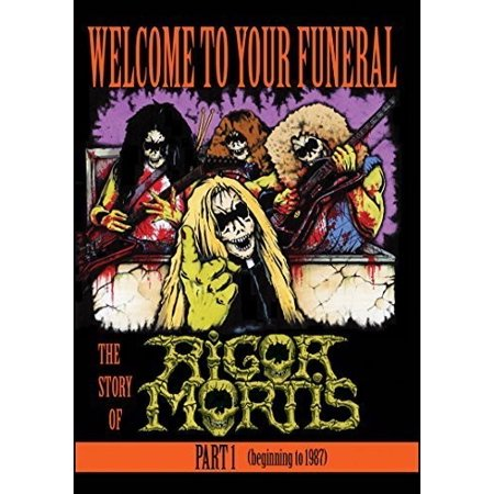 Rigor Mortis: Welcome to Your Funeral the Story of Rigor Mortis Part 1 (DVD)