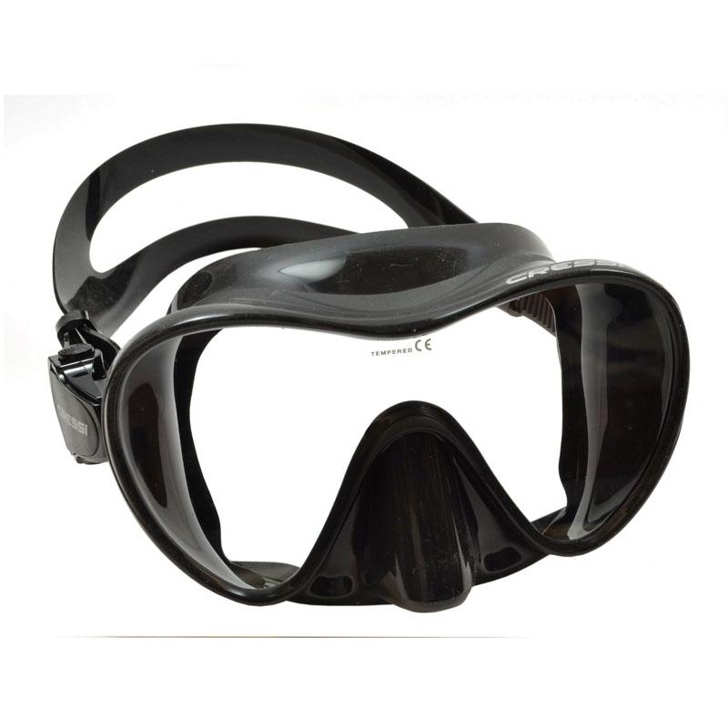 Cressi Scuba Snorkeling Frameless Dive Mask, Clear by Cressi Sub