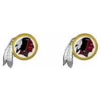 NFL Posts Stud Earrings Charm Team Logo PICK YOUR TEAM w/Gift Box