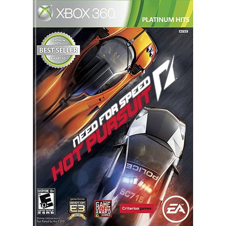 Need For Speed Hot Pursuit Ph  Xbox 360  Electronic Arts  14633731521
