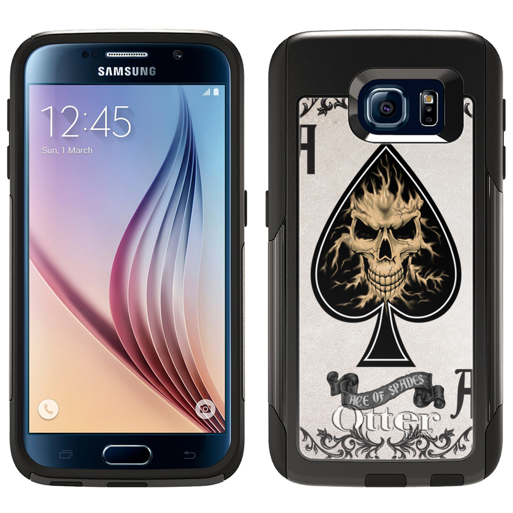 OtterBox Commuter Samsung Galaxy S6 Case - Ace of Spades Skull OtterBox Case
