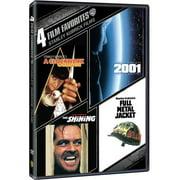 4 Film Favorites: Stanley Kubrick Films The Shining   2001: A Space Odyssey   A Clockwork Orange   Full Metal Jacket... by WARNER HOME VIDEO