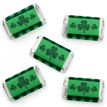 St. Patrick's Day - Mini Candy Bar Wrapper Stickers - Saint Patty's Day Party Small Favors - 40 Count](Party City St Cloud)