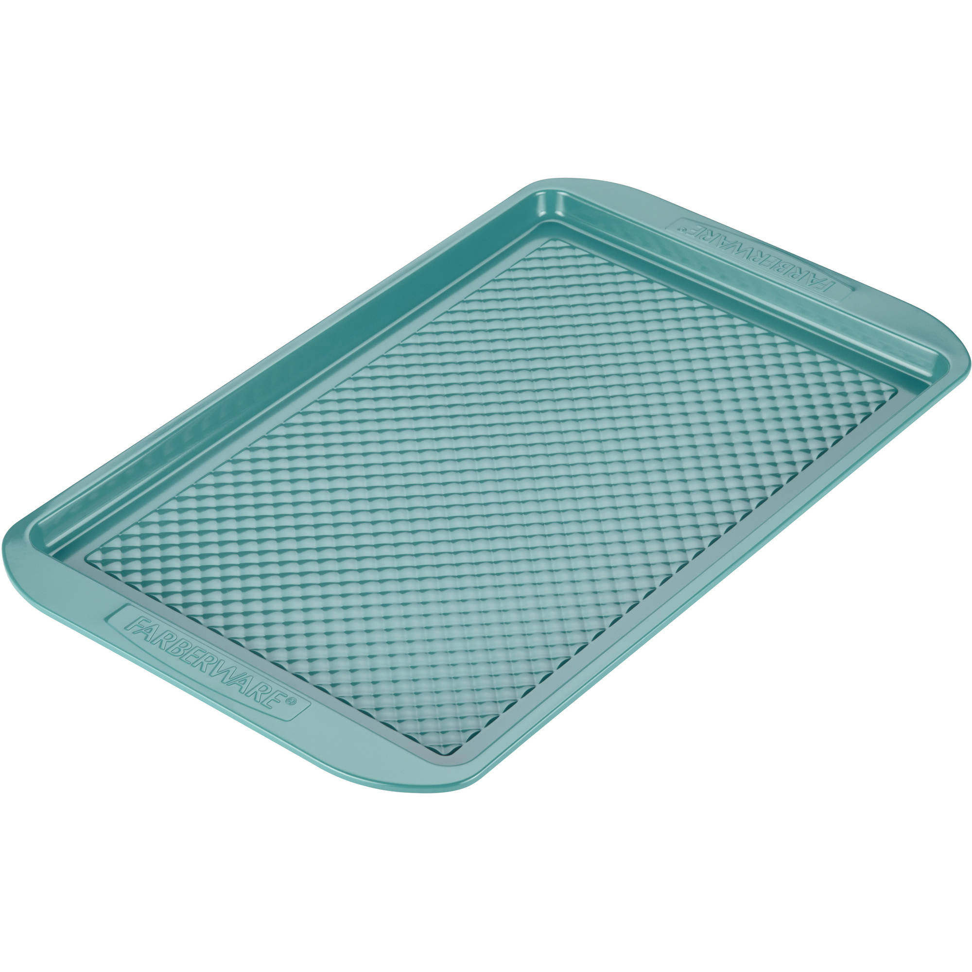 "Farberware purECOok Hybrid Ceramic Nonstick Bakeware Baking Sheet and Cookie Pan, 11"" x 17"", Lavender"