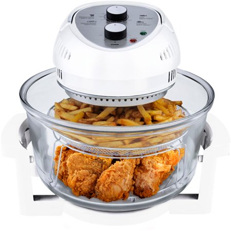 Big Boss 1300-Watt Oil-less Air Fryer, 16-Quart, Choose your Color