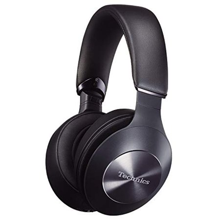 Technics Premium Hi-Res Wireless Bluetooth Stereo Headphones with 40 mm Dynamic-Tuned Drivers 3-Mode Active Noise Cancelling Ambient Sound Enhancer and Playback Pause Sensor - EAH-F70N-K (Black) - image 1 of 1