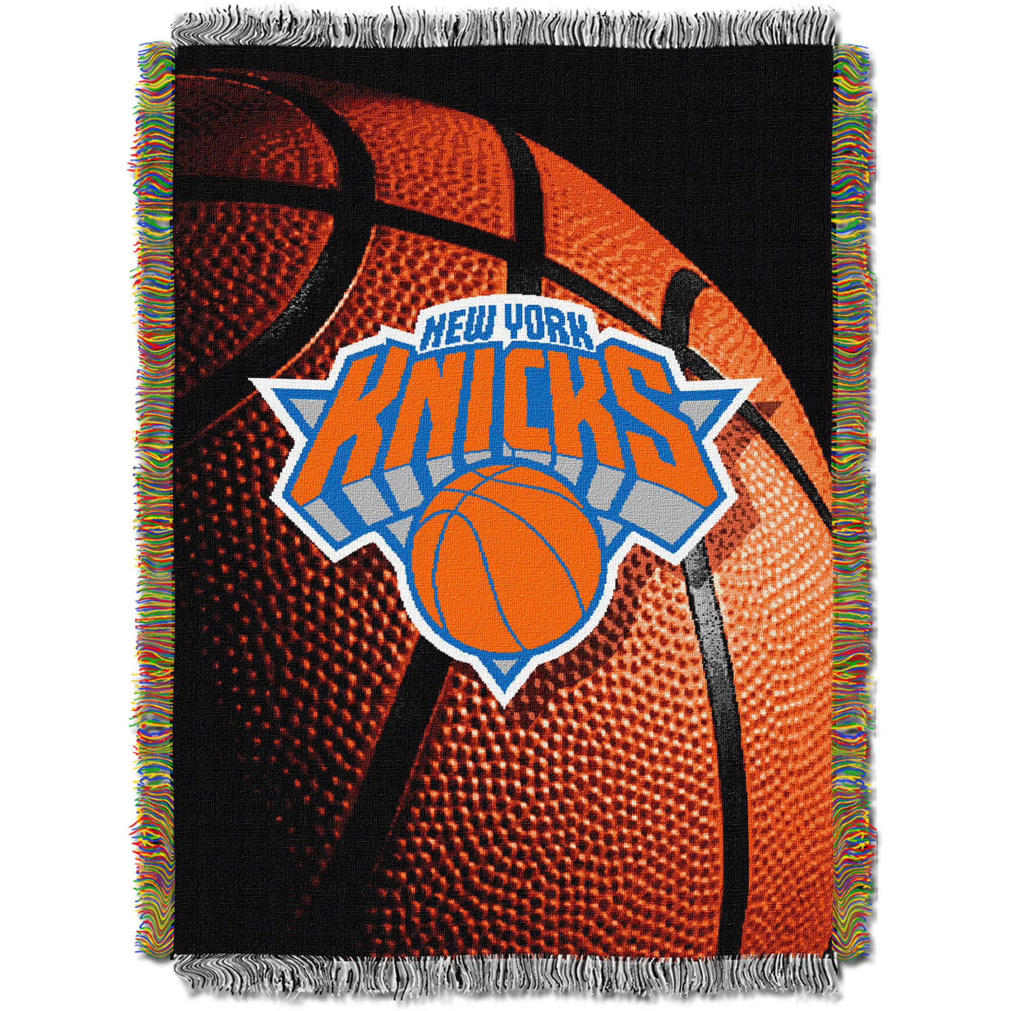 "NBA 48"" x 60"" Photo Real Series Tapestry Throw, Knicks"