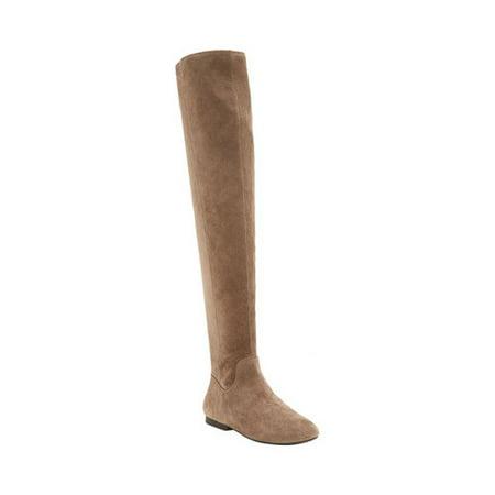 fb3d787ca11 LUCKY - Lucky Brand Jeans GAVINA Women s Over The Knee Boots - Walmart.com