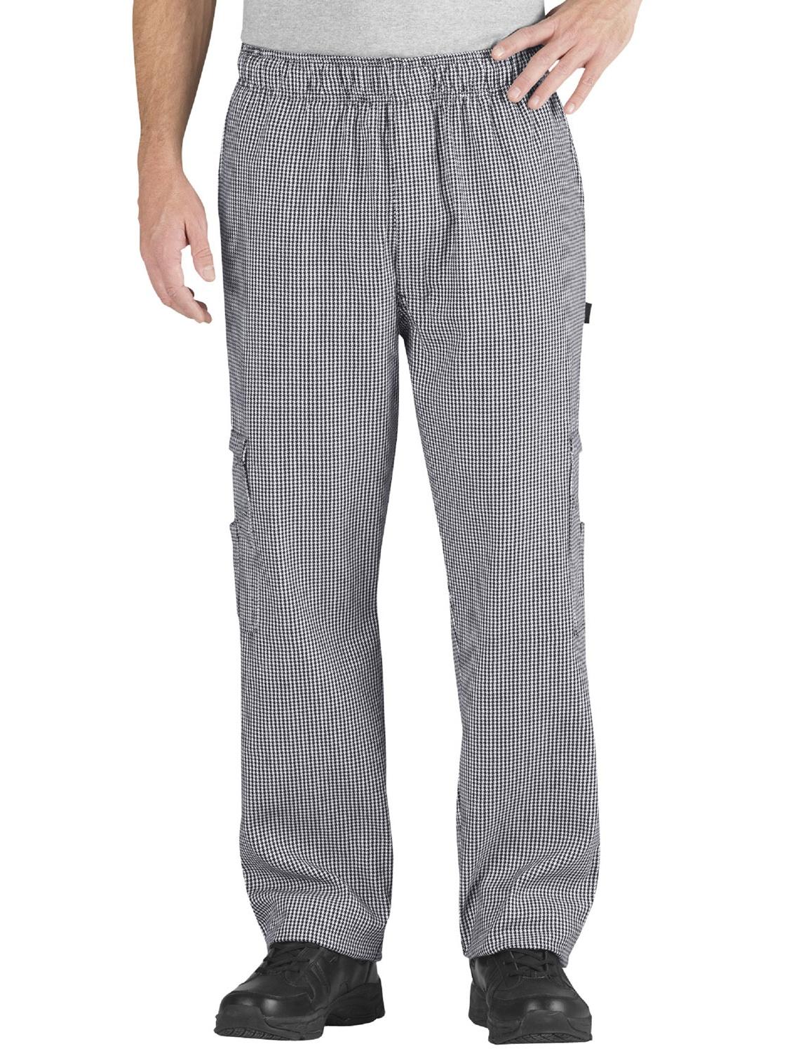 CHEF CODE Cargo Chef Pants, Elastic Waist with Drawstring CC202