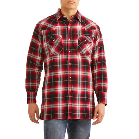 Autumn Flannel Autumn Flannel - Men's Long Sleeve Quilted Flannel Shirt-Jacket
