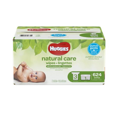 Body Electrical Wiper - Huggies Natural Care Baby Wipes Refills (Choose Your Count)