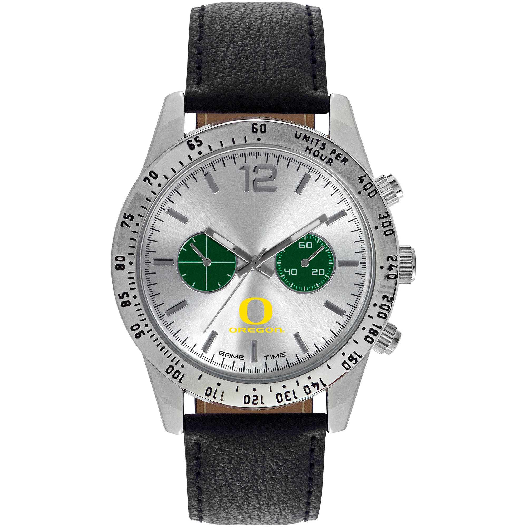Game Time NCAA Men's University of Oregon Ducks Letterman Series Watch