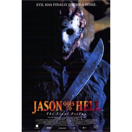 - Jason Goes to Hell the Final Friday Movie Poster (11 x 17)
