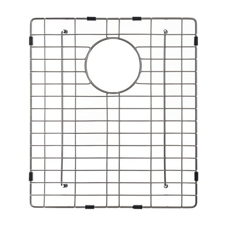 "KRAUS KBG-102-33 Stainless Steel Bottom Grid for KHU102-33 Double Bowl 33"" Kitchen Sink, 14 1/2"" x 16 1/2"" x 1 3/8"" ()"