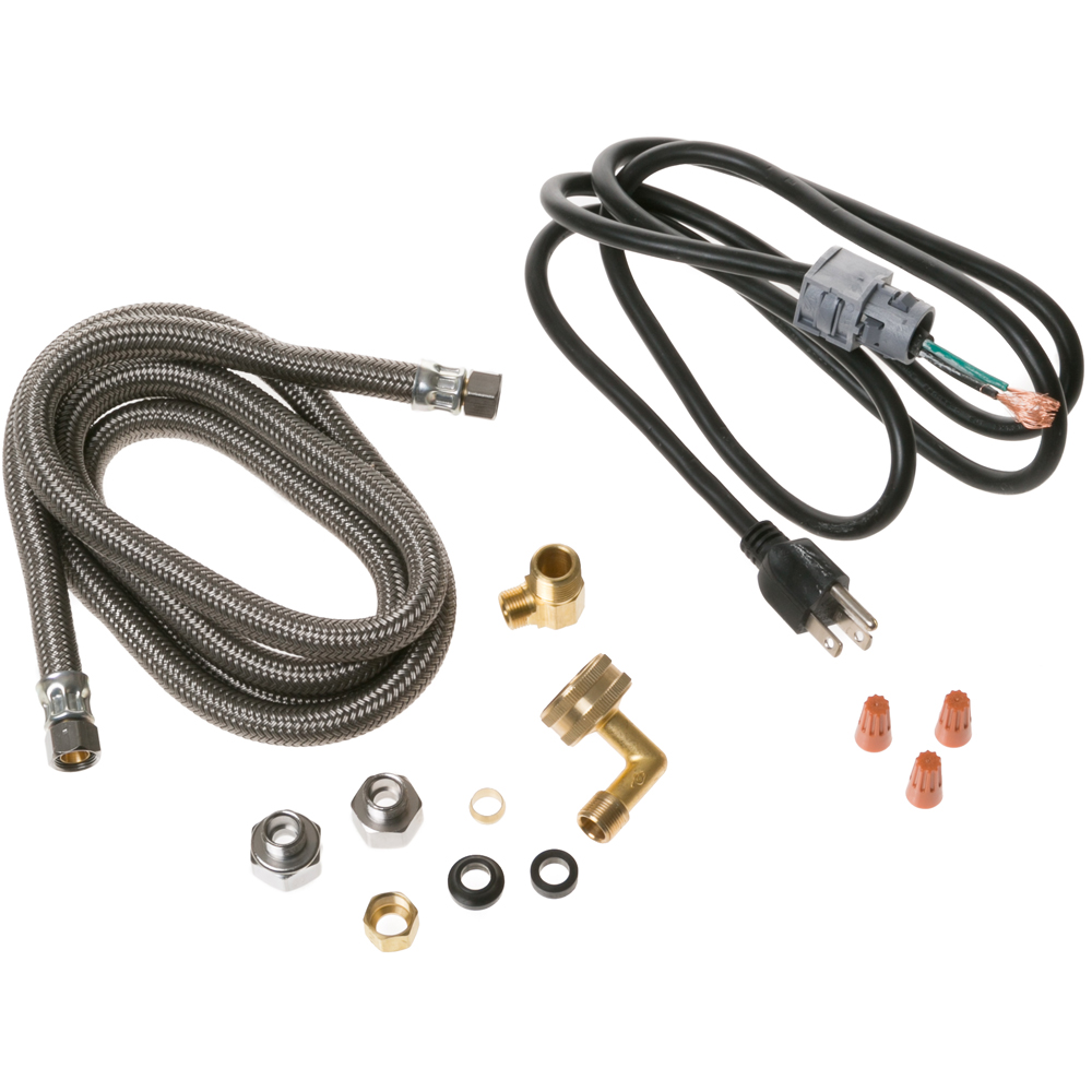 General Electric PM28X329 Universal Dishwasher Installation Kit, Electric and Water Connections