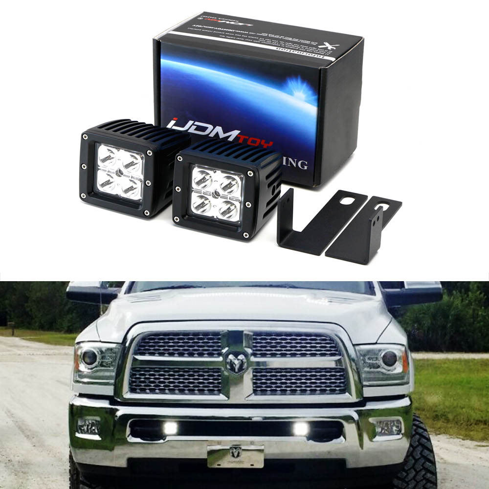 iJDMTOY Complete 40W High Power CREE LED Fog Light Kit w/...