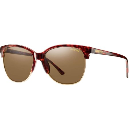 Smith Optics Women's Rebel Archive Sunglasses,OS,Brown/Red