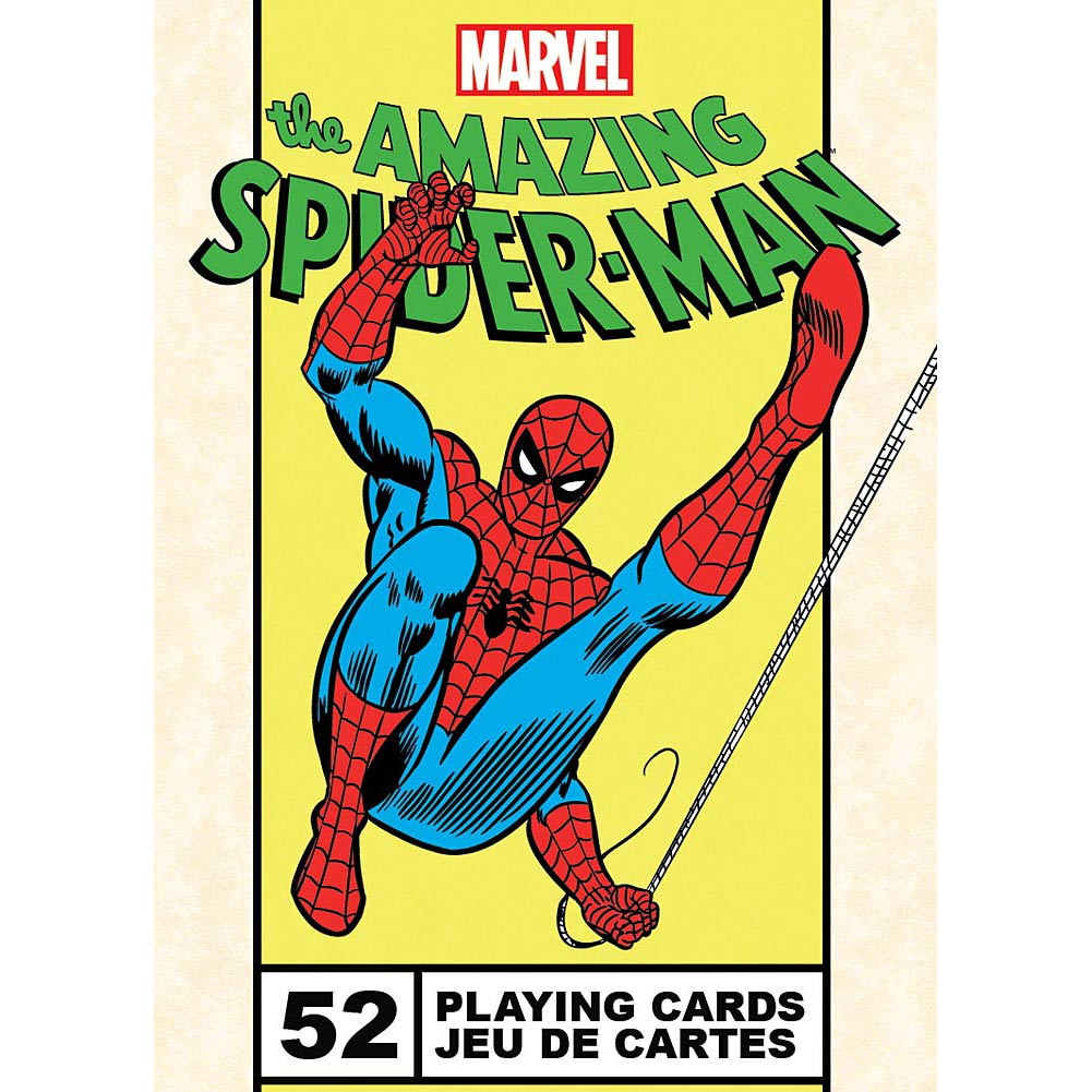 NMR Distribution The Amazing Spiderman Playing Cards