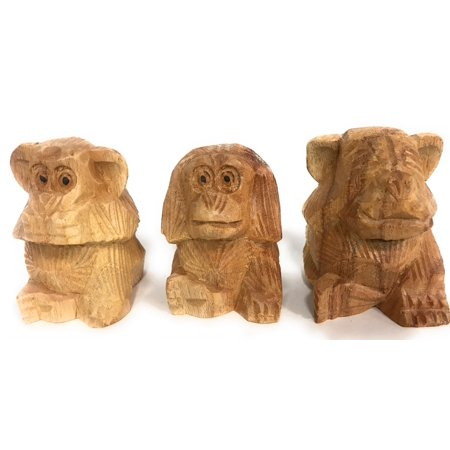 Monkey Carving (Set of