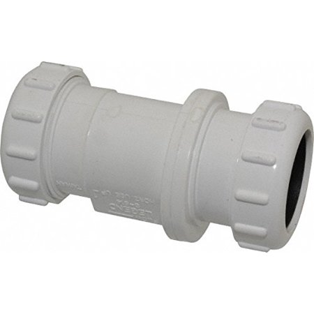 "1-1/2"" PVC CHECK VALVE COMPRESS"