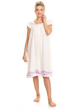 Product Image 10074 Womens Nightgown Sleepwear Pajamas - Woman Sleeveless  Sleep Dress Nightshirt Blue 3X 91bf776be