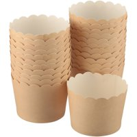 Wilton® Kraft Scallop Baking Cups 24 ct Box