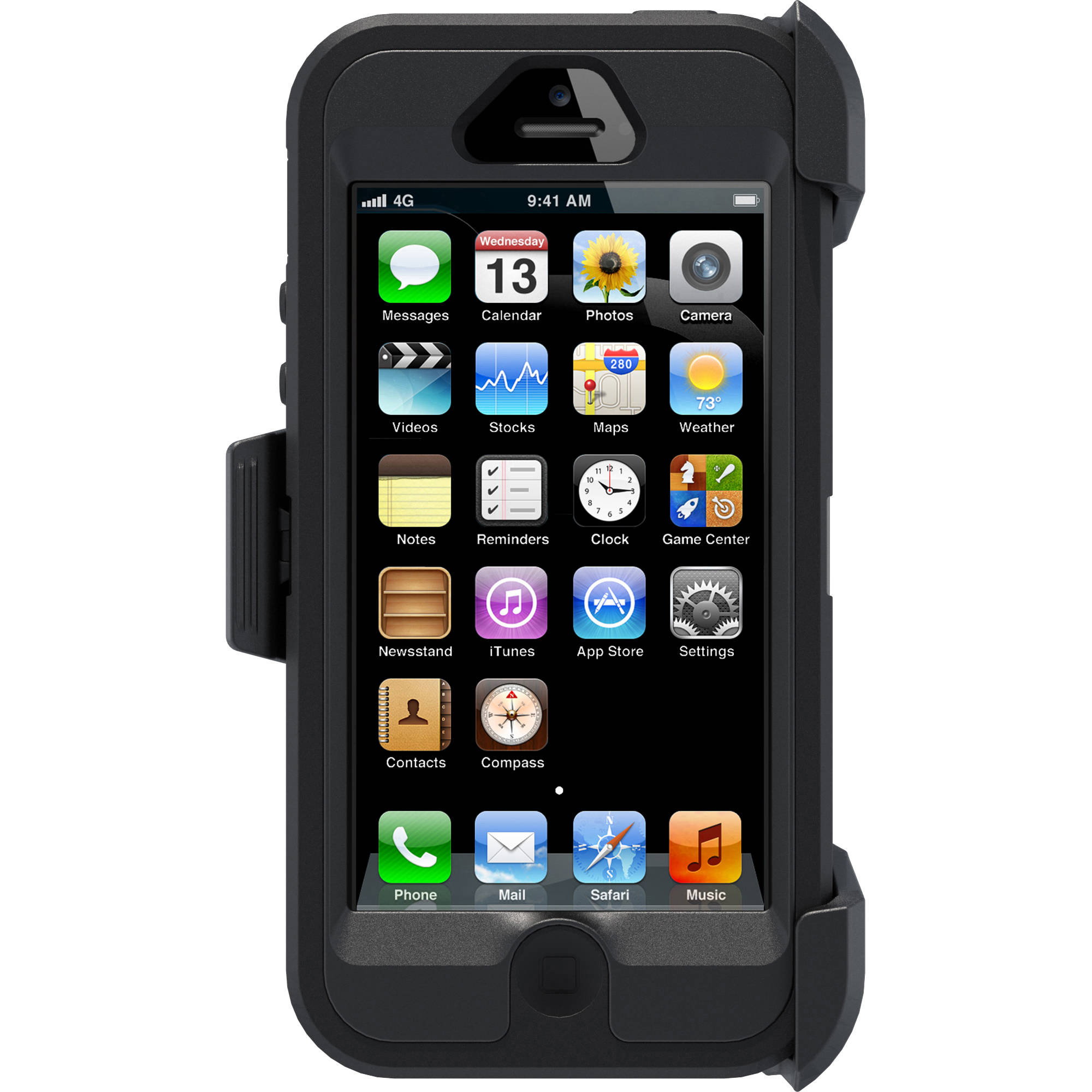 buy online 3efd3 6e1aa Otterbox Defender Case for iPhone 5/5S/SE