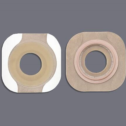 """Colostomy Barrier New Image - Item Number 14707BX - 2-1/4"""" Flange Red Code, 1-3/8"""" Stoma - 5 Each / Box"""