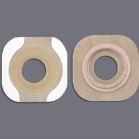 """Colostomy Barrier New Image - Item Number 14706BX - 1-3/4"""" Flange Green Code, 1-1/4"""" Stoma - 5 Each / Box"""
