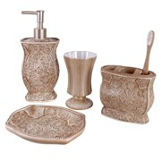 Creative Scents USA Inc Victoria Bath Accessory 4-piece Set
