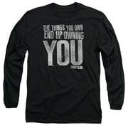 Fight Club - Owning You - Long Sleeve Shirt - Medium