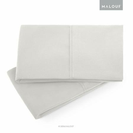 Woven Double Brushed Microfiber Pillowcase Set