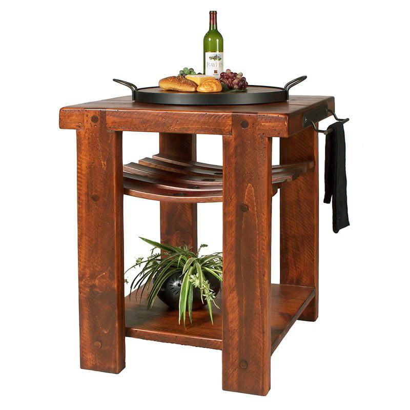 Designs reclaimed wine2night cross creek kitchen island walmart com