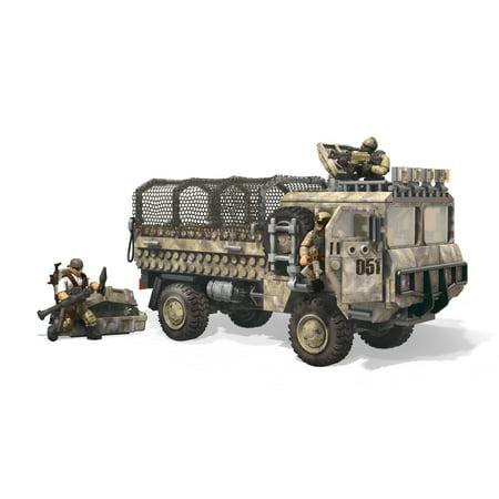 Mega Construx Call of Duty Heavy Tactical Cargo (Mega Bloks Call Of Duty Tactical Helicopter)