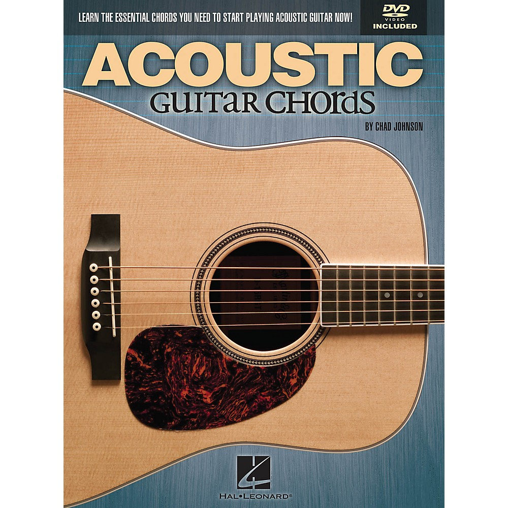 Hal Leonard Acoustic Guitar Chords Learn the Essential You Need Book & DVD by Hal Leonard