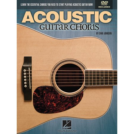 Hal Leonard Acoustic Guitar Chords Learn The Essential You Need Book