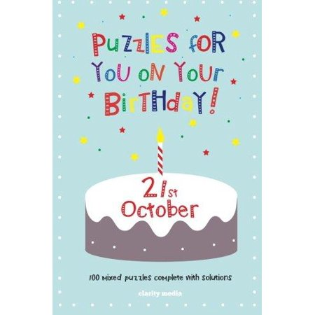 Puzzles for You on Your Birthday - 21st October - image 1 of 1