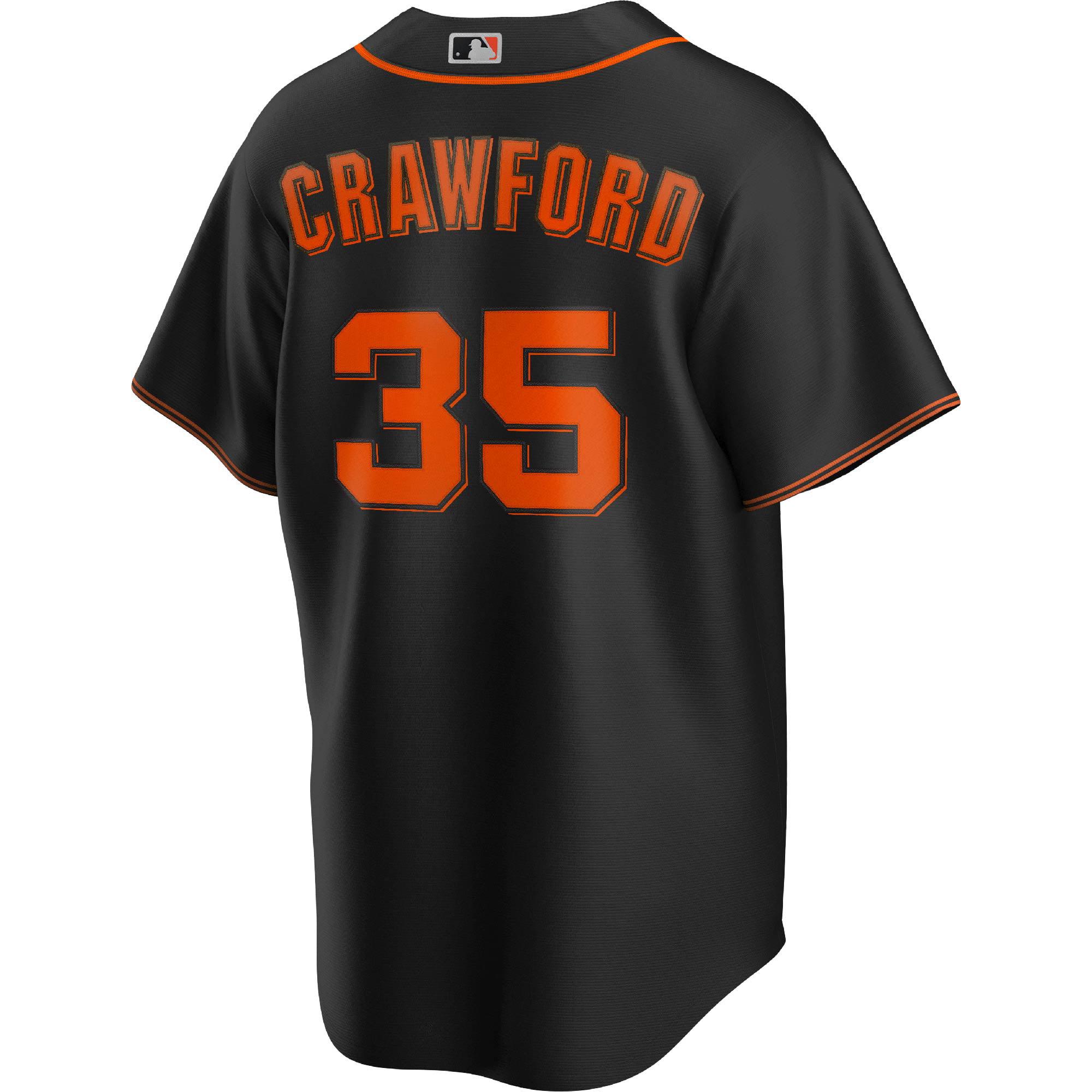 Brandon Crawford San Francisco Giants Nike Alternate Replica Player Name Jersey - Black