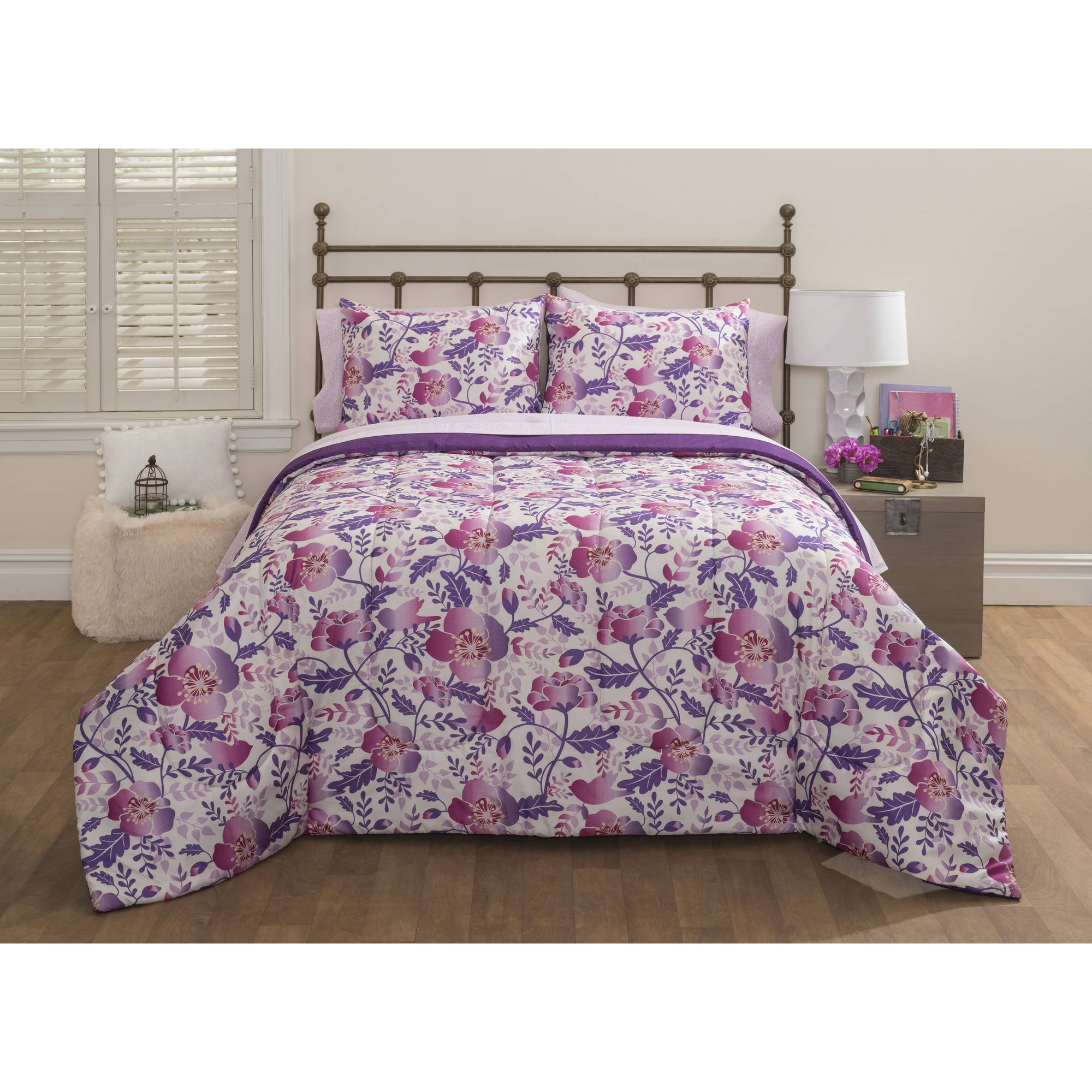 Latitude Nature Boutique Bed-in-a-Bag Bedding Set