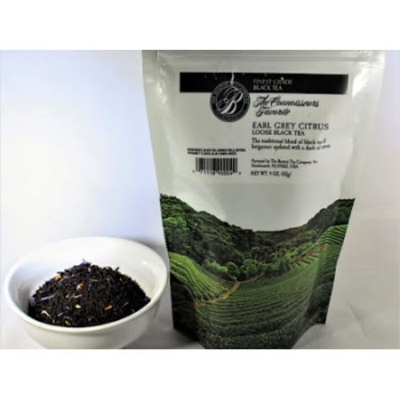 Boston tea company citron green loose tea blend