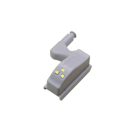 Universal Cabinet Hinge LED Sensor Light For Kitchen Living Room Bedroom Cupboard Closet Wardrobe Lamp - image 1 of 7