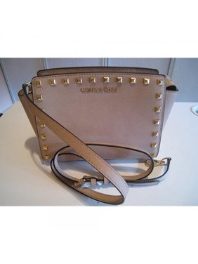 581181044e8a Product Image Michael Kors Selma Medium Stud Crossbody Handbag Dark Dune