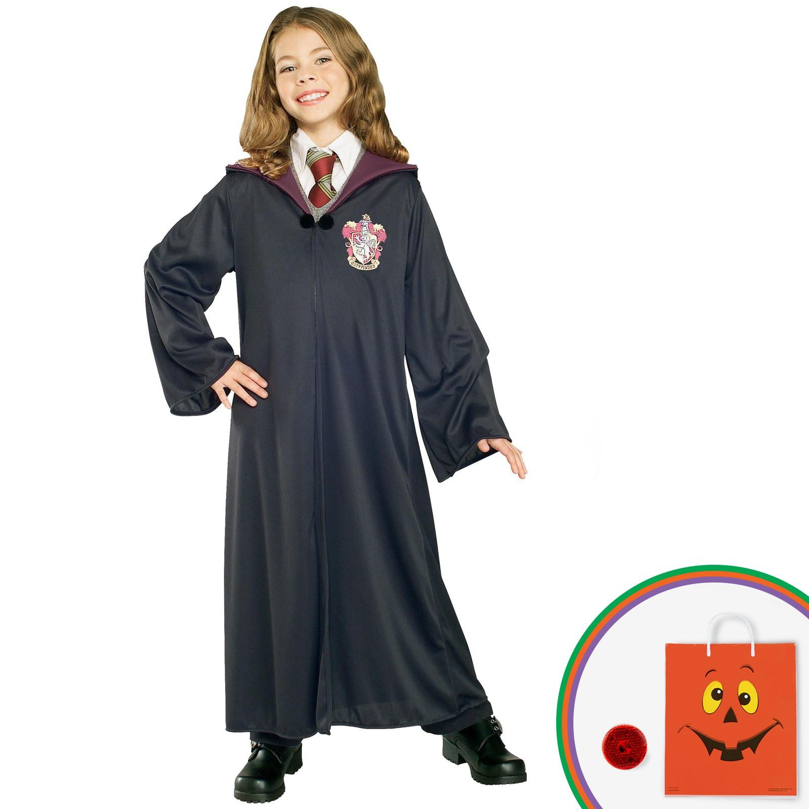 Harry Potter - Gryffindor Robe Child Costume Kit with Free Gift