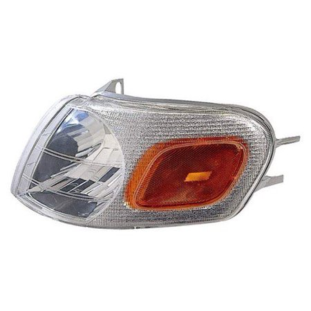 Go-Parts OE Replacement for 1999 - 2005 Pontiac Montana Parking Light Assembly / Lens Cover - Left (Driver) Side 15130499 GM2520155 Replacement For Pontiac Montana Pontiac Montana Body Parts
