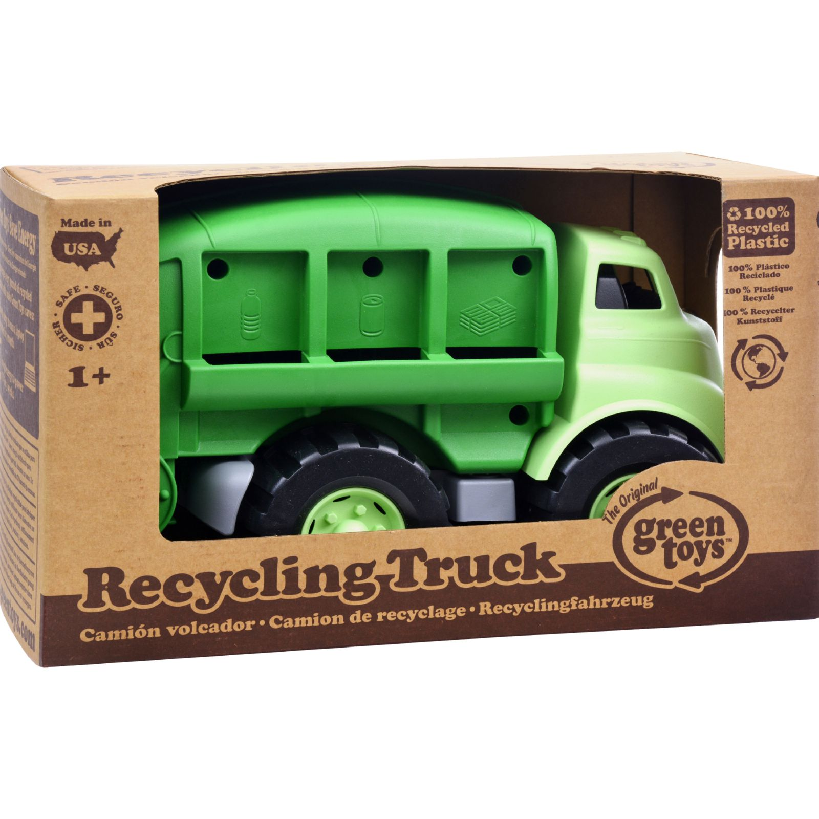 Green Toys Recycling Truck by Generic